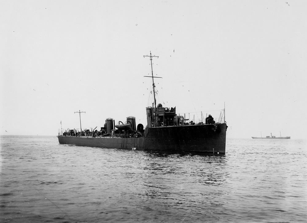 HMS Shark at sea