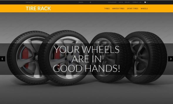 Wheels & Tires - PrestaShop 1.6.x Theme