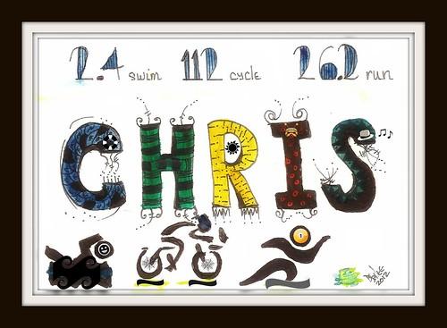 2012 - Chris Bday by BeverlyDiane