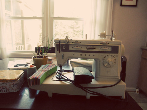 "my ""new"" sewing machine"