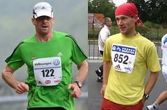 Dva běžci pro jeden maraton: Mráz je nespálil