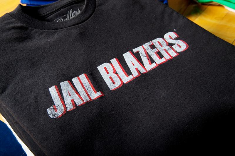 Million Dollar Ballers Jail Blazers T-Shirt