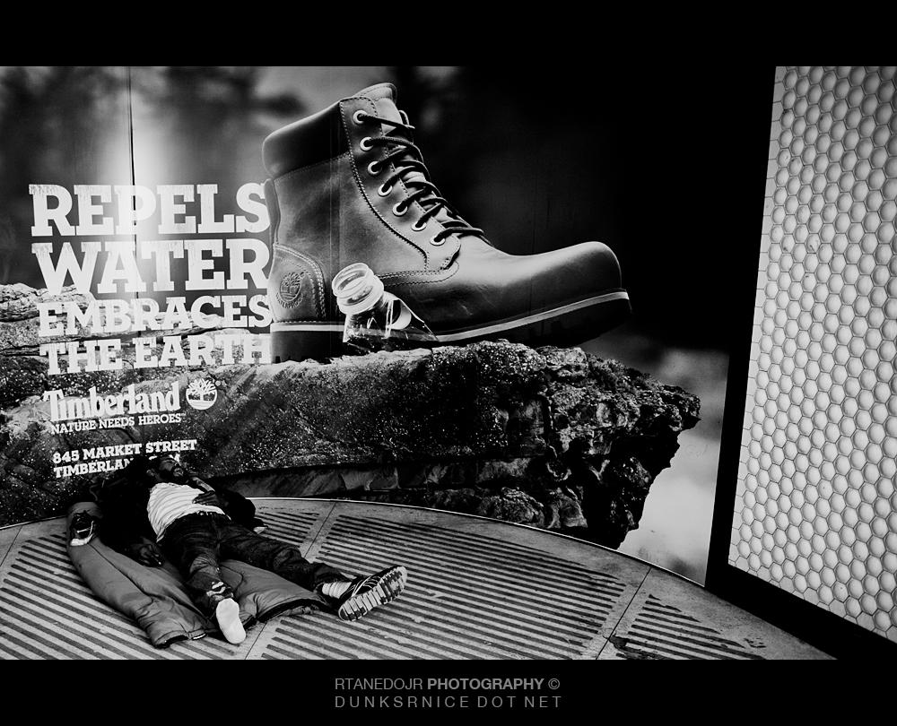 Boot B&W.