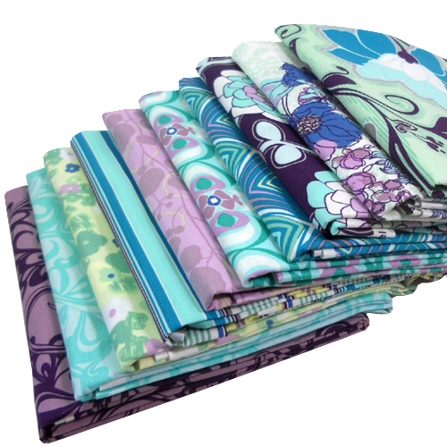 Friday's Giveaway! The Poetica SeafoamSymphony Colorway by Pat Bravo for Art Gallery Fabrics -- Sponsored by Moona Fabrics