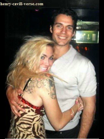 Henry Cavill With Fan Carlan At Club Maddox Feb 12 2012 01