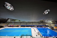 London Aquatics Centre / Interior