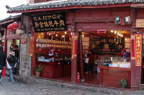 Yak Meat Shop