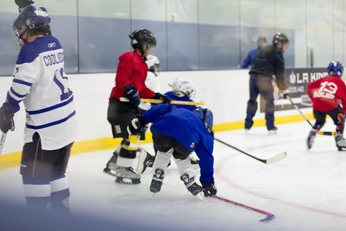 Joshua hockey scrimmage3