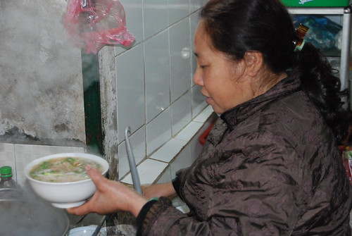 Bun Rieu - Thanh Ha Market