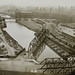 Kinzie Ave. at the North Branch of the Chicago River (Bridges, viaducts, and underpasses, Image 2) by UIC Library Digital Collections