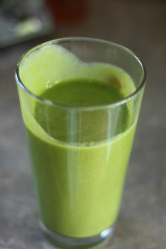 Green Smoothie - After