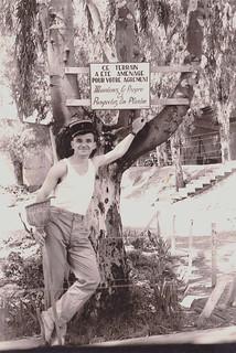 Algérie, 1960 - maintien (énergique) de la propreté du terrain