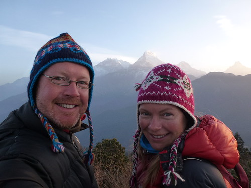 Poon Hill Trekking - dag 3 - sunrise at Poon Hill - 4