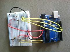 Corrected 5.5v thermal flashlight circuit