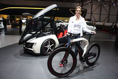 RAD e at the Geneva Motor Show