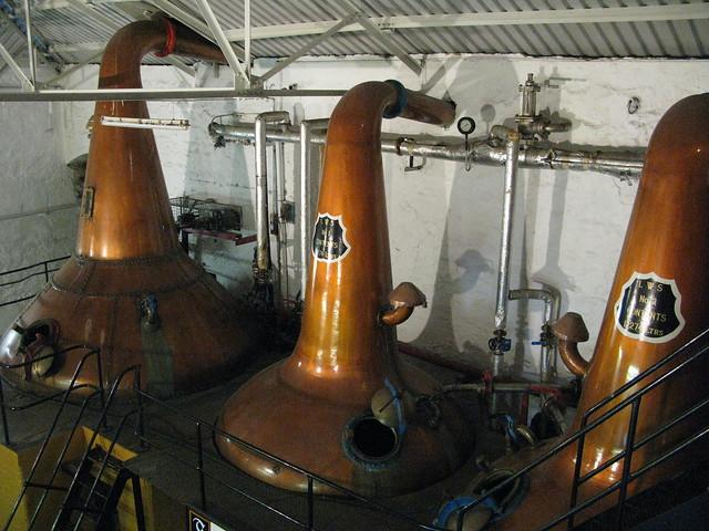 Springbank distillery - triple stills distillation