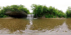 Hérisson waterfalls: The Blue Gour