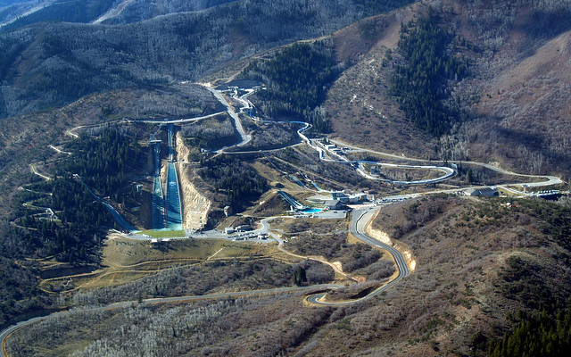 Utah Olympic Park Aerial View