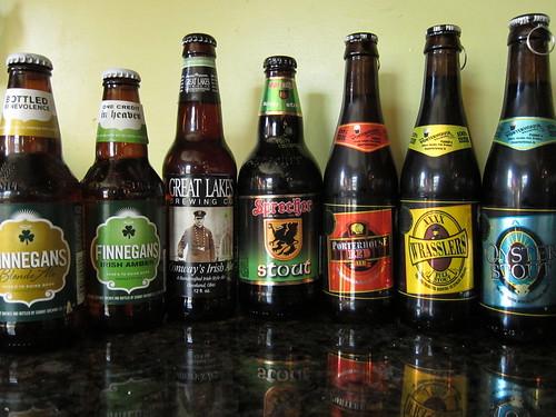 St. Pat's Beer Tasting