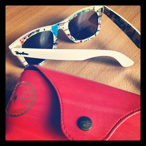 Day 16. Sunglasses #marchphotoaday #RayBan #limitededition #NYCsubway
