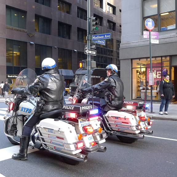 NYPD on wheels