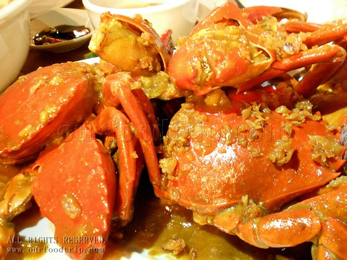 Butter Garlic Crabs