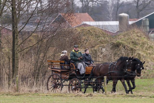 Winterrit van de Paardentoerclub Huppel, Henxel en Ratum