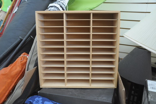 slotted storage box
