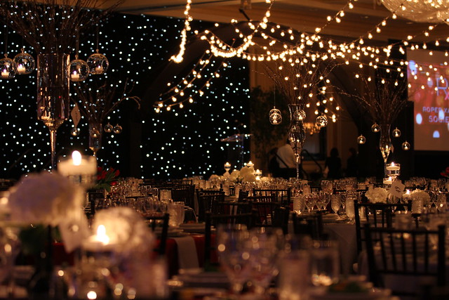Star Curtain Backdrop