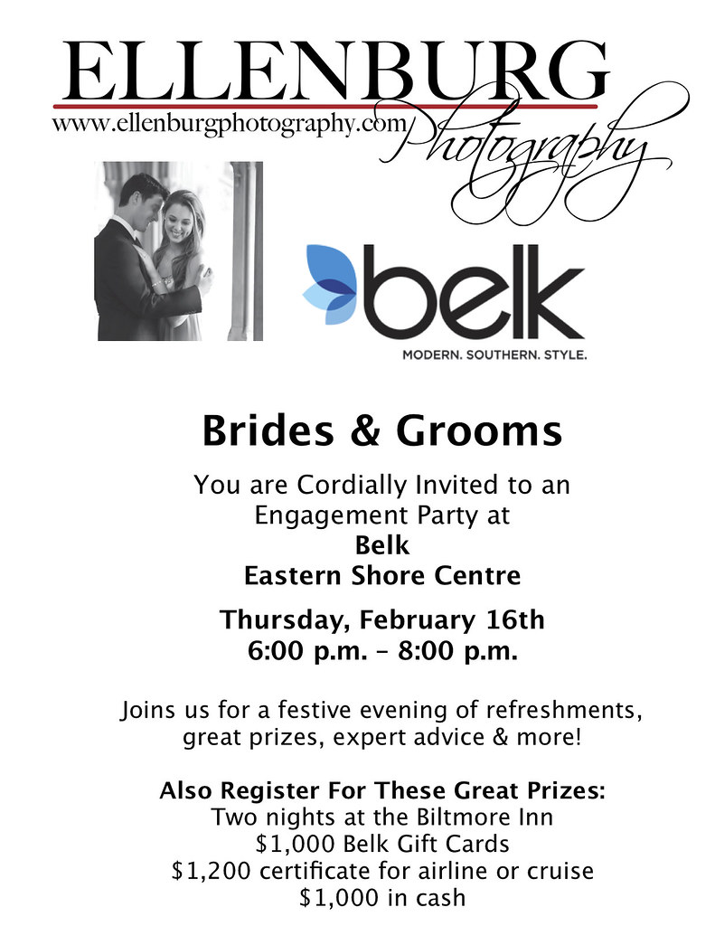 Jpeg Belk Engagement Party  Large Flyer-1