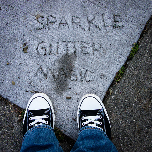 sparkle glitter magic