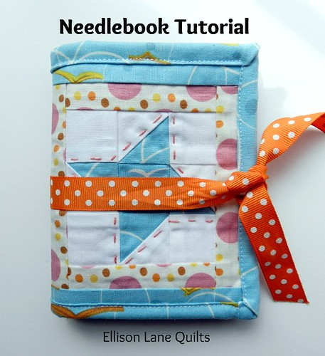 needlebook flock tutorial