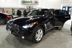 automobile(1.0), automotive exterior(1.0), sport utility vehicle(1.0), wheel(1.0), vehicle(1.0), automotive design(1.0), infiniti qx70(1.0), crossover suv(1.0), infiniti(1.0), land vehicle(1.0), luxury vehicle(1.0),