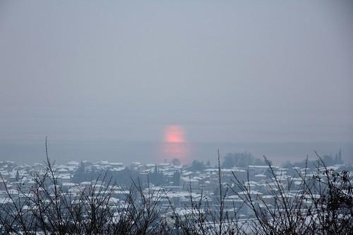 tramonto innevato-febb 2012