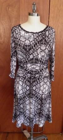 Simplicity 3775 Blue Grey Black Knit
