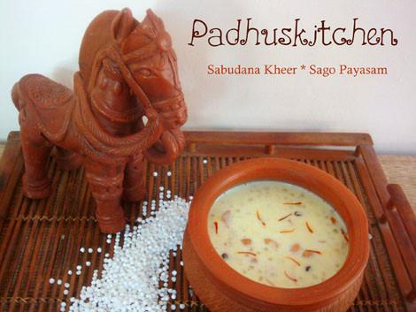 Sabudhana Kheer
