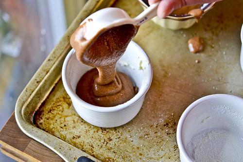Chocolate-Amaretto Souffles 9
