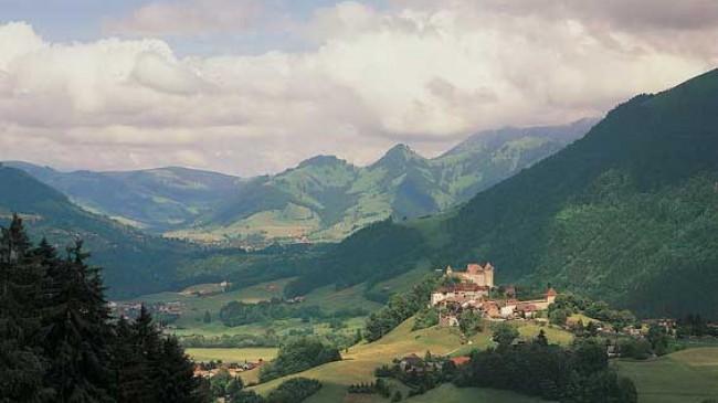 Švajčiarska čokoládová a syrová cesta