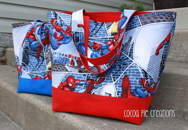 Spidey Totes
