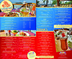 Hatchet Caye Menu