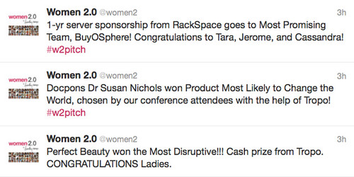 Perfect Beauty wins Most Disruptive, Docpons Most Likely to Change the World, BuyOSphere most promising team