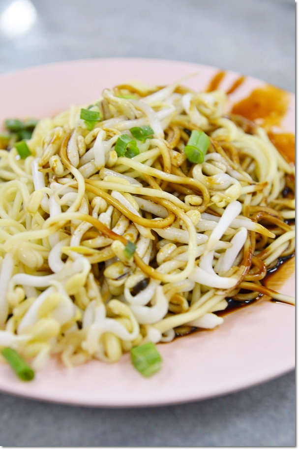 Dry Noodles with Bean Sprouts
