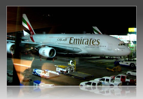 Welcome to Amsterdam, Airbus 380 (on 01 August, 2012)