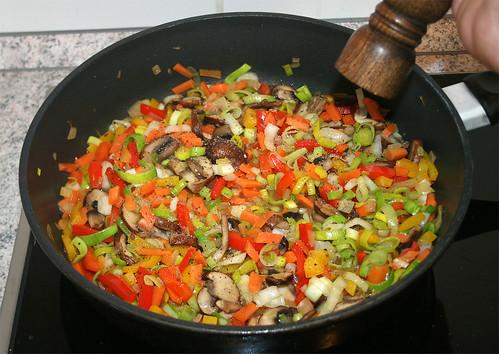 34 - Mit Salz & Pfeffer würzen / Taste with salt & pepper