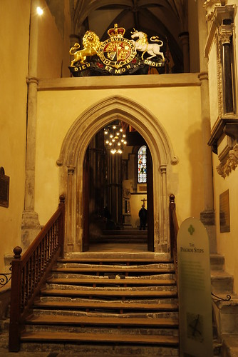 The Pilgrim Steps