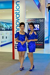 The ptt models at the 32nd Bangkok Motorshow