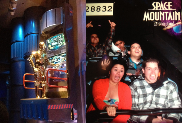 Disneyland: Star Tours & Space Mountain