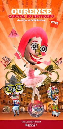Ourense 2012 - Entroido - cartel