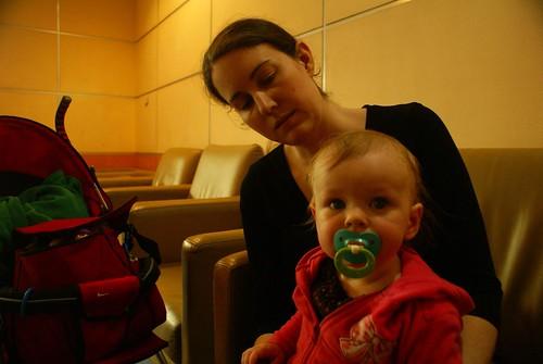 Juliana in Guangzhou airport nursery