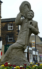 Statue of Ernie Wise, Morley by Tim Green aka atoach